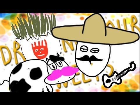 EL EGGO!!  | Drawing Your Tweets #6