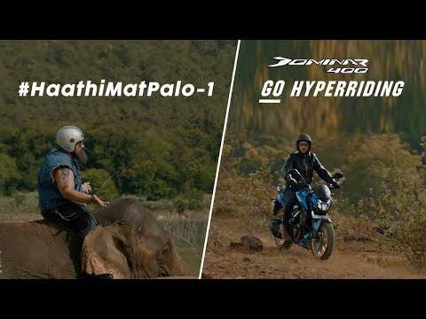 Bajaj Auto-Bajaj Dominar takes on competition again, with elephant analogy