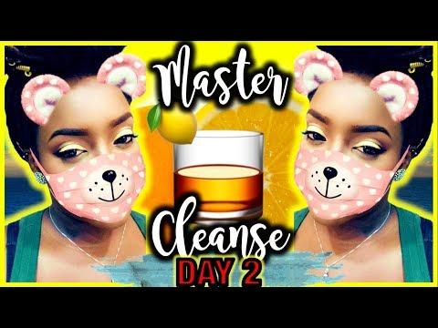 Master Cleanse Lemonade Detox: Day 2   WEIGHT LOSS VLOG   ▶ Delirious