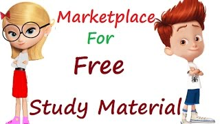 Marketplace for Free Study Material