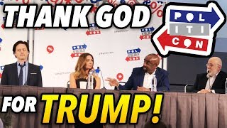 Thank God for Trump! Politicon Panel HIGHLIGHTS (Jesse Lee Peterson)