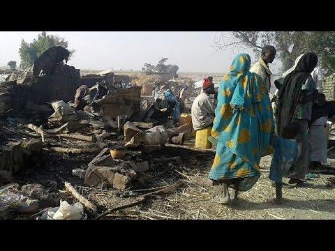 Νιγηρία: Βομβάρδισαν κατά λάθος καταυλισμό εκτοπισμένων – Δεκάδες άμαχοι νεκροί