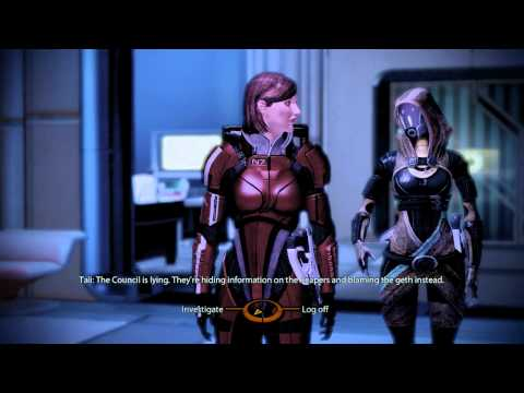 Jenn Mass Effect 2 HD 8 - Councilor Udina, Admiral Anderson, Shopping, Krogan Question - Citadel  B