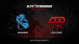 NewBee vs LGD.CDEC, game 1