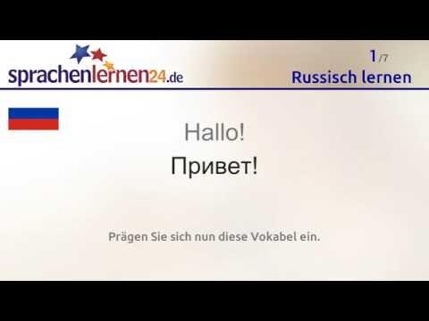 Russisch lernen (kostenloses Sprachkurs-Video)