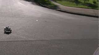 Kyosho 1-8 Scale HOR RC Motorcycle First Run..mp4