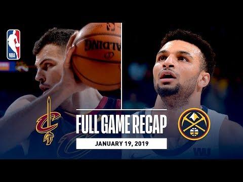 Video: Full Game Recap: Cavaliers vs Nuggets | Jokic Records 6th Triple-Double Of Season