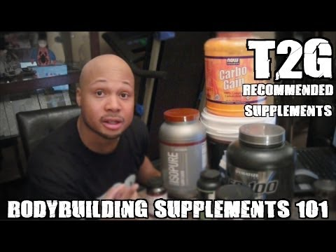 """T2G: Bodybuilding Supplements 101 """"My Current Mass & Strength Stack"""""""