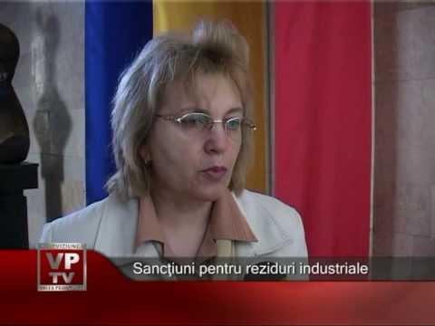 Sanctiuni pentru reziduuri industriale