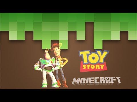 Toy Story i Minecraft-verdenen!