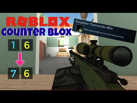 INSANE COMEBACK | Roblox Counter Blox Roblox Offensive Gameplay