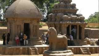 Kanchipuram India  City pictures : Mahabalipuram and Kanchipuram are major temple cities in Tamilnadu, India