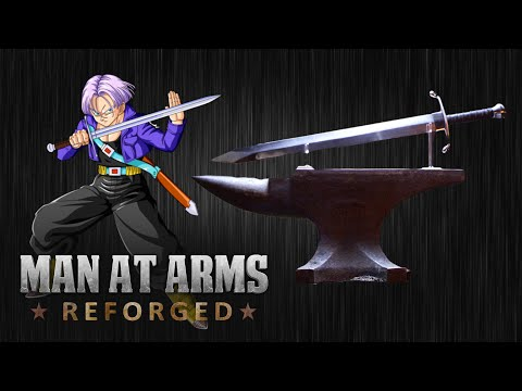 Watch as Trunks Sword From Dragon Ball Z Is Forged and