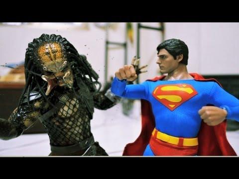 超人與終極戰士:看到終極戰士被狠打感覺好爽!
