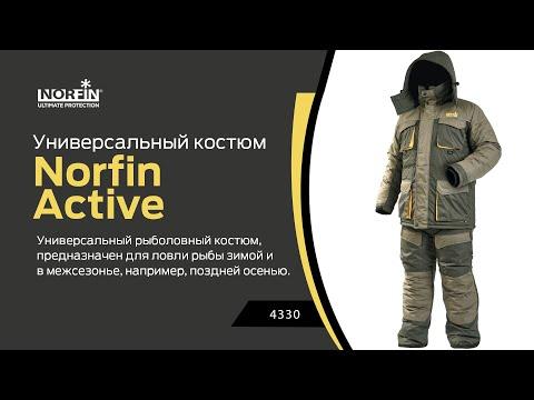 Відео демонстрація костюму Norfin Active