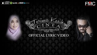 Video Tasha Manshahar Feat. RJ - Terima Kasih Cinta (Official Lirik Video) MP3, 3GP, MP4, WEBM, AVI, FLV Juni 2018