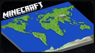 Minecraft: THE EARTH MOD (1:95 Scale)