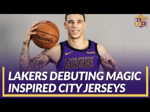 Video: Lakers Review: Lakers Set to Debut Magic Johnson Inspired City Jerseys Against the Blazers
