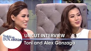 Video TWBA Uncut Interview: Toni & Alex Gonzaga MP3, 3GP, MP4, WEBM, AVI, FLV Januari 2019