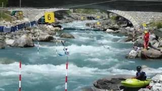 Saint-Maurice France  city photos : 2016 Championnat de France par équipe Bourg-Saint-Maurice (kayak slalom)