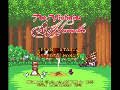 The Violonist of Hameln Super Nintendo