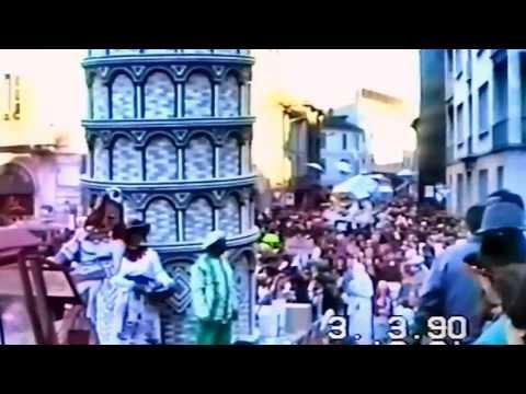 Il Carnevale del 1990 a Gallarate