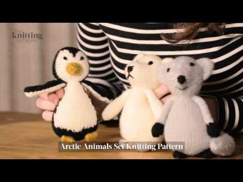 Arctic Animals Knitting Pattern (The Knitting Network WTD013)