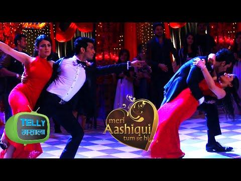 Shikhar Ishaani Romantic Dance in their Sangeet Ce