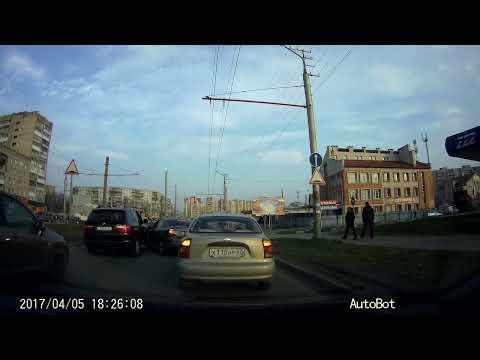 Неадекват на дороге