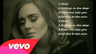 Hello Adele  Những Ca Khúc Hay Nhất của Adele