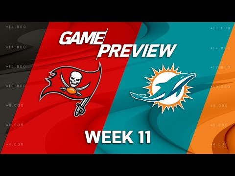 Video: Tampa Bay Buccaneers vs. Miami Dolphins | NFL Week 11 Game Preview