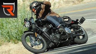 7. 2018 Harley-Davidson Street Bob First Test Review Video | Riders Domain