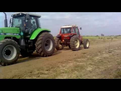 Agco Allis 150 vs. Fiat 980 DT