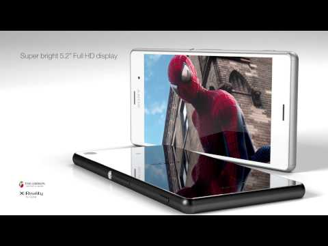 Xperia™ Z3, Xperia™ Z3 Compact & Xperia™ Z3 Tablet Compact announced [video]