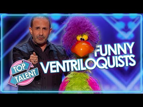 Hilarious Puppet Masters on Got Talent | Top Talent