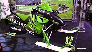 6. 2016 Arctic Cat ZR RR 8000 129 Sled - Walkaround - 2015 Toronto Snowmobile & ATV Show