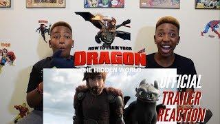 Video How To Train Your Dragon: The Hidden World Official Trailer Reaction MP3, 3GP, MP4, WEBM, AVI, FLV Juni 2018