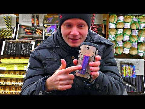 Тест самых мощных Петард на кокосе, яйцах и микроволновке и смартфоне!