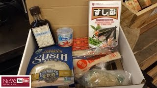 Sushi Making Kit - Everything You Have But The Fish by Diaries of a Master Sushi Chef