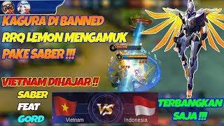 Download Video Kagura Dibaned RRQ Lemon Mengamuk Pake Saber - Kontes Arena Indo VS Vietnam Full Skin Keren MP3 3GP MP4