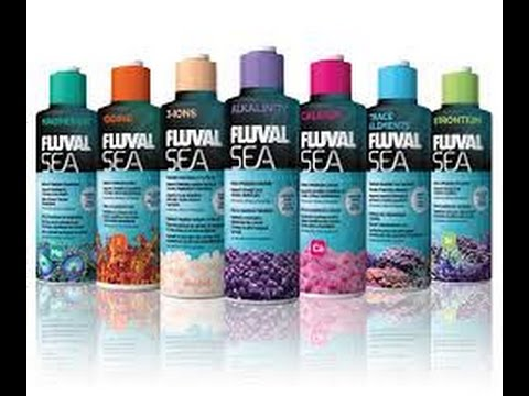 FLUVAL SEA water supplements for marine aquariums