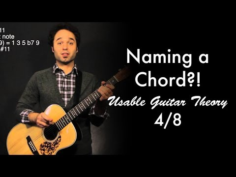 Naming a Chord?! | Usable Guitar Theory 4/8