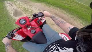 2. Test Ride Review Hisun Axis 110 4 Wheeler ATV