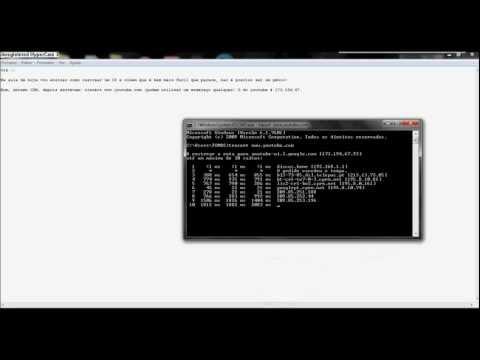 Tuto 2 - -Como rastrear um IP