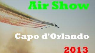 Capo d'Orlando Italy  city images : Frecce Tricolori - Air Show Capo d'Orlando 2013