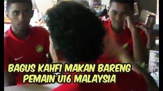 Video Intip Kemesraan Bagus Kahfi makan bareng pemain Timnas U16 Malaysia MP3, 3GP, MP4, WEBM, AVI, FLV Oktober 2018