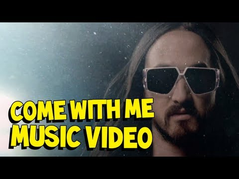 steveaoki - The official music video for Come WIth Me (Deadmeat) by Steve Aoki featuring Polina! From the album Wonderland out now on Ultra Music / Dim Mak. http://bit.l...