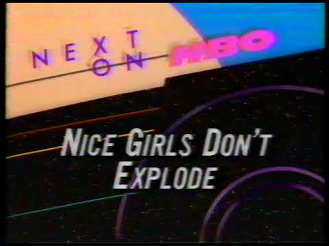 Next On HBO 1988 Nice Girls Don't Explode