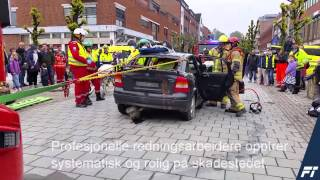 Video fra Trafikksikkerhetsdag i Ski