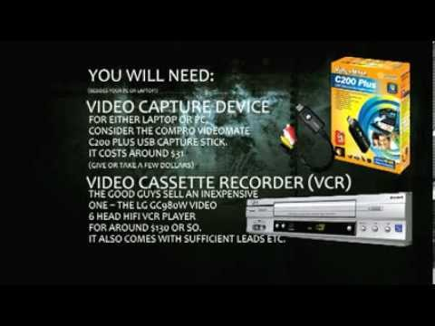 How to Dump your VHS to Hard Drive